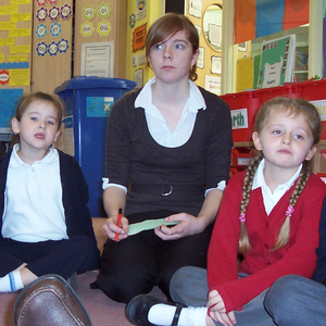 p4c students participating in activities